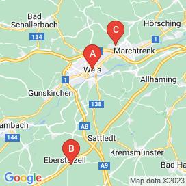 Standorte von Software Jobs in Wels - Juni 2018