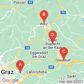 Standorte von Elektronik / Installation Jobs in Sankt Ruprecht an der Raab (Bezirk Sankt Ruprecht an der Raab)