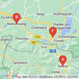 Standorte von Vollzeit Jobs in Grän - Mai 2018