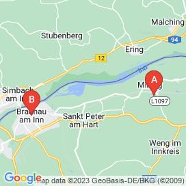 Standorte von Schlosser Jobs in Burgkirchen - August 2018
