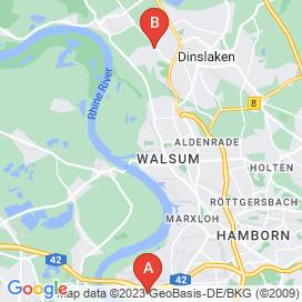Standorte von Zerspanungsmechaniker Jobs in Voerde (Niederrhein) - August 2018