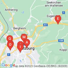 Standorte von 90+ Büro / Administration, Gastronomie und Handel Jobs in Salzburg
