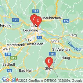 Standorte von Ferial Jobs in Linz-Land - August 2018