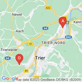 Standorte von Bau Jobs in Trier - Juni 2018