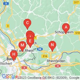 Standorte von 80+ Jobs in Lörrach (Lörrach) - Juli 2018