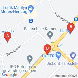 Standorte von Jobs in Horitschon - Mai 2018