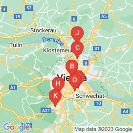 Standorte von Gebäudetechniker Jobs in Wien - April 2018