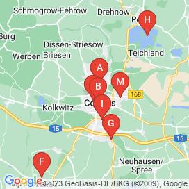 Standorte von Jobs in Cottbus - Mai 2018