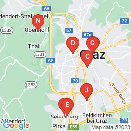 Standorte von Gastronomie Jobs in Hart Bei Graz - Juni 2018