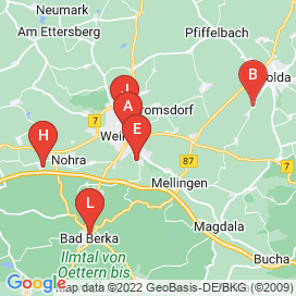 Standorte von Teilzeit Jobs in Weimar - April 2018