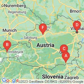 Standorte von Spar Jobs  - August 2018