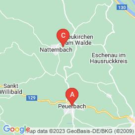 Standorte von Jobs in Niederranna - August 2018