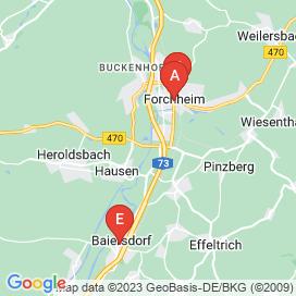 Standorte von Pflege / Gesundheit / Bildung Jobs in Pretzfeld - August 2018