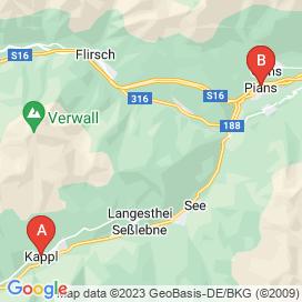 Standorte von Jobs in Kappl - August 2018