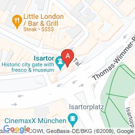 Standorte von Erzieher Jobs in München (Isarvorstadt-Ludwigsvorstadt)