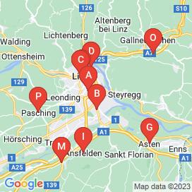 Standorte von 10+ KFZ Jobs in Linz - August 2018