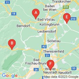 Standorte von Büro Jobs in Enzesfeld-Lindabrunn - August 2018