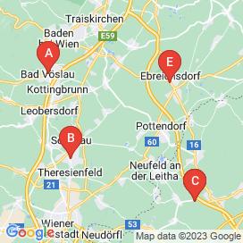 Standorte von Shop Jobs in Ebenfurth - Mai 2018