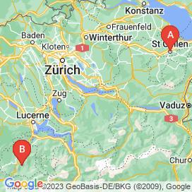 Standorte von Vollzeit Jobs  - Juni 2018