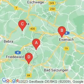 Standorte von 3 Vollzeit Jobs in Gerstungen
