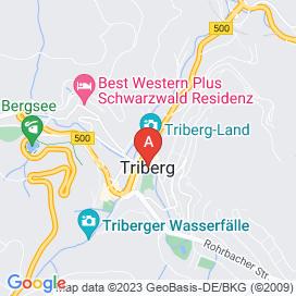 Standorte von Helfer Jobs in Triberg - August 2018