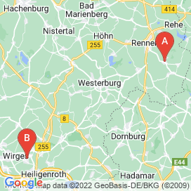 Standorte von Bau Jobs in Dornburg - August 2018