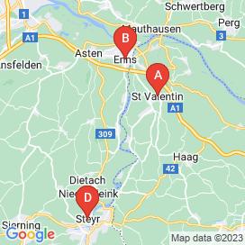 Standorte von Sachbearbeiterin Jobs in Dietach - April 2018