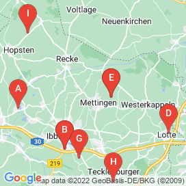 Standorte von Produktion / Fertigung Jobs in Mettingen - Mai 2018