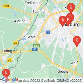 Standorte von Jobs und Stellenangebote in Salzburg - April 2018