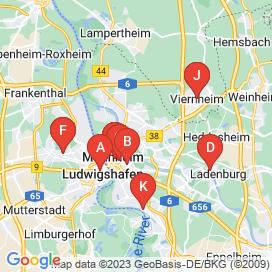 Standorte von 16 Büro / Administration Jobs in Ludwigshafen Am Rhein - Stellenangebote von 2280 bis 4348 EUR