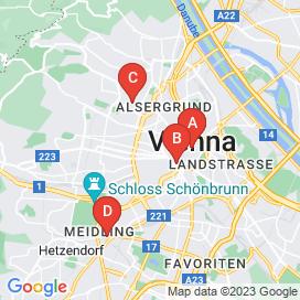 Standorte von Handy Jobs in Wien - Juli 2018