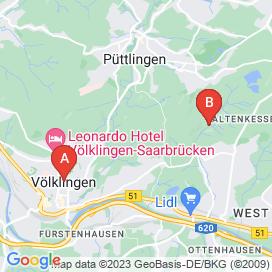 Standorte von Fachkraft Jobs in Ensdorf - August 2018