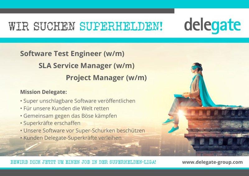 SLA Service Manager (w/m) Wien  Vollzeit ab 32.648€/Jahr bei Delegate Technology GmbH - in 30 Sek. bewerben - Job 4960853