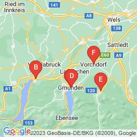 Standorte von Feinkostverkäufer Jobs in Gmunden - August 2018