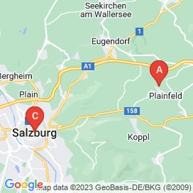 Standorte von Controlling Jobs in Salzburg - Mai 2018
