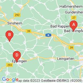 Standorte von 10+ Reinigung / Hausbetreuung / Sicherheit Jobs in Kirchardt