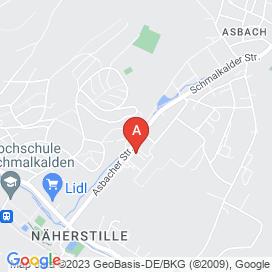 Standorte von Pflege Jobs in Rotterode - August 2018