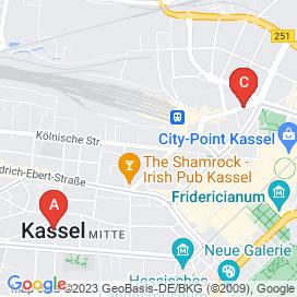 Standorte von Logistik Jobs in Kassel - Mai 2018