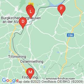 Standorte von Jobs in Geretsberg - Juni 2018