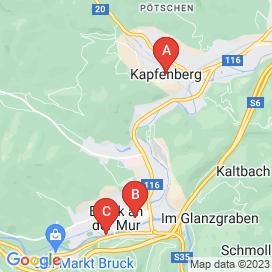 Standorte von Mitarbeit Jobs in Wiener Straße, Bruck an der Mur - August 2018