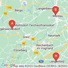 Standorte von Reinigung Jobs in Greiz - April 2018