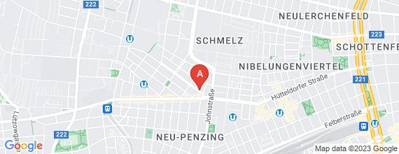 Standort von stv. Filialleiter/in (30 Std. /Woche) 1150 Wien, Schanzstraße 6-10