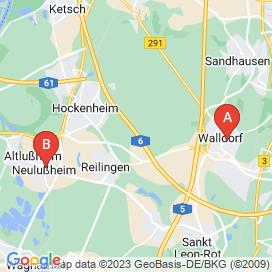 Standorte von Handwerk Jobs in Oberhausen-Rheinhausen - Juni 2018