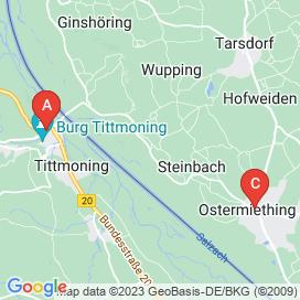 Standorte von Jobs in Steinbach, Ostermiething - Juli 2018