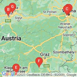 Standorte von Website Jobs  - Juli 2018