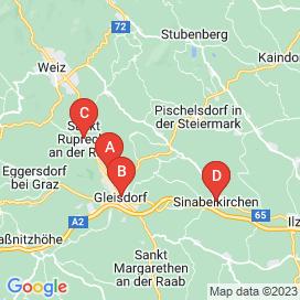 Standorte von KFZ Jobs in Sinabelkirchen - August 2018