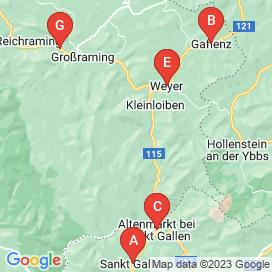 Standorte von Jobs in Kleinreifling - August 2018