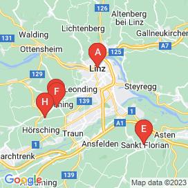 Standorte von Promotion Jobs in Traun - August 2018