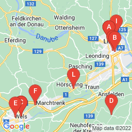 Standorte von LKW Jobs in Hörsching - April 2018