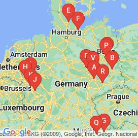 Standorte von Hochbau Jobs  - Juni 2018